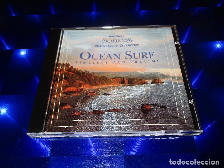 CDs de Música: DAN GIBSONS SOLITUDES ( OCEAN SURF - TIMELESS AND SUBLIME ) - CD - DCG014 - NATURE SOUND COLLECTION - Foto 2 - 163748542