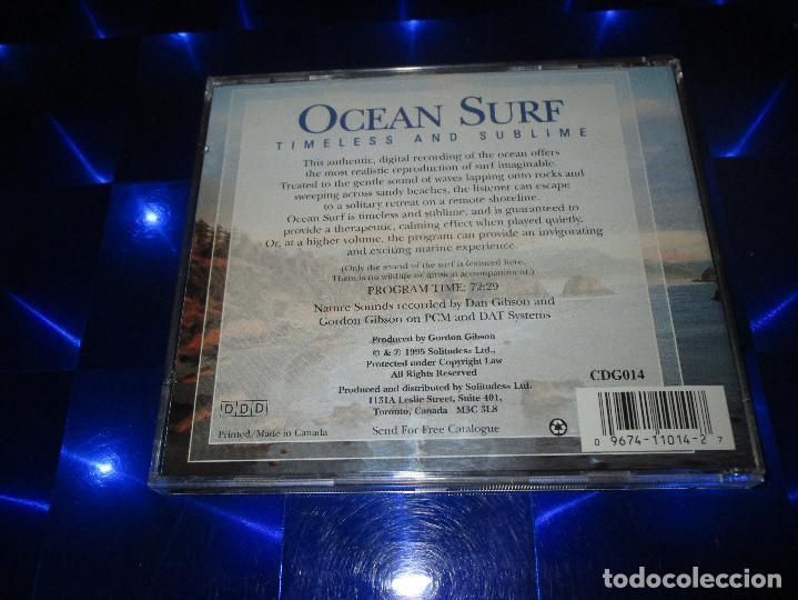 CDs de Música: DAN GIBSONS SOLITUDES ( OCEAN SURF - TIMELESS AND SUBLIME ) - CD - DCG014 - NATURE SOUND COLLECTION - Foto 3 - 163748542