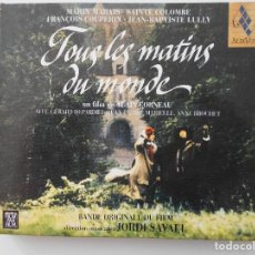 CD di Musica: TOUS LES MATINS DU MONDE. DIRECTION MUSICALE: JORDI SAVALL. COMPACTO.. Lote 163771910