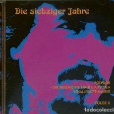 CDs de Música: DIE 70ER JAHRE - POLYDOR, DIE GESCHICHTE EINER DEUTSCHEN SCHALLPLATTENMARKE. Lote 163784786