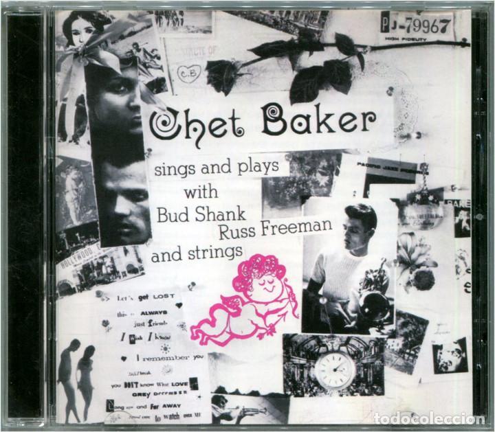 CHET BAKER – SINGS AND PLAYS - CD EUROPE 2004 (RE) - PACIFIC JAZZ PJ-79968 (Música - CD's Jazz, Blues, Soul y Gospel)