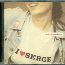 CDs de Música: SERGE GAINSBOURG – I ♥ SERGE (ELECTRONICA GAINSBOURG) - CD EUROPE 2001 - MERCURY 548 552.2. Lote 163804578