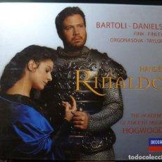 CDs de Musique: HANDEL - RINALDO (CAJA 3 CD + LIBRETO DECCA 2000) . Lote 163868118