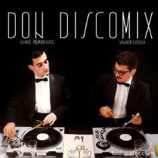 CDs de Música: MIKE PLATINAS, JAVIER USSIA – DON DISCOMIX. Lote 163877750