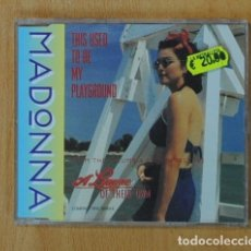 CDs de Música: MADONNA - THIS USED TO BE MY PLAYGROUND - CD SINGLE. Lote 163912114
