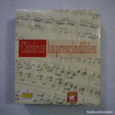 CDs de Música: CLÁSICOS IMPRESCINDIBLES: BEETHOVEN, HANDEL, VERDI... - CAJA CON 10 CD PRECINTADOS. Lote 163943174
