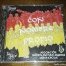 CDs de Música: CON NOMBRE PROPIO MUSICOS ELDENSE SANTA CECILIA PROMO. Lote 163976210