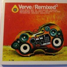 CDs de Música: VERVE REMIXED 3 - CD EU DIGIPACK 2005. Lote 163979166