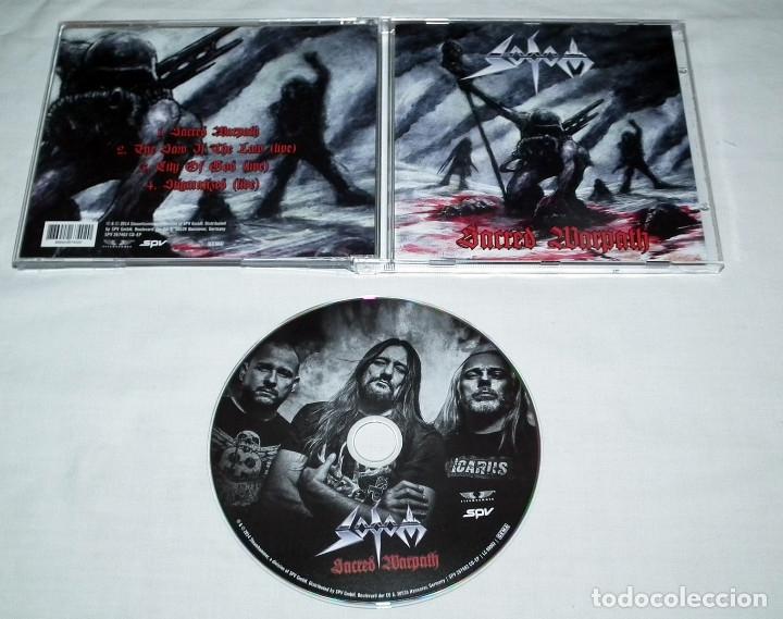 CDs de Música: CD EP SODOM - SACRED WARPATH - Foto 2 - 162493666