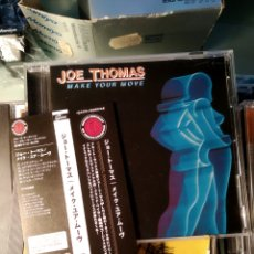 CDs de Música: JOE THOMAS – MAKE YOUR MOVE (EDICIÓN JAPONESA) RARÍSIMA. Lote 163990042