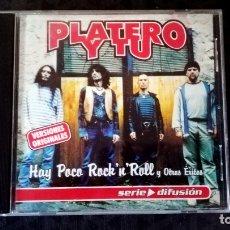 CDs de Música: CD DE - PLATERO Y TU - HAY POCO ROCK AND ROLL Y OTROS EXITOS - EDITA DRO EN 2001. Lote 164002226