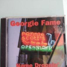 CDs de Música: GEORGIE FAME – NAME DROPPIN'. Lote 164047070