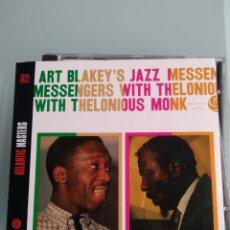 CDs de Música: ART BLAKEY'S JAZZ MESSENGERS* WITH THELONIOUS MONK – ART BLAKEY'S JAZZ MESSENGERS WITH THELONIOUS M. Lote 164049510