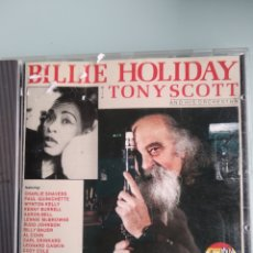 CDs de Música: BILLIE HOLIDAY WITH TONY SCOTT AND HIS ORCHESTRA ‎– BILLIE HOLIDAY WITH TONY SCOTT AND HIS ORCHESTRA. Lote 164054862
