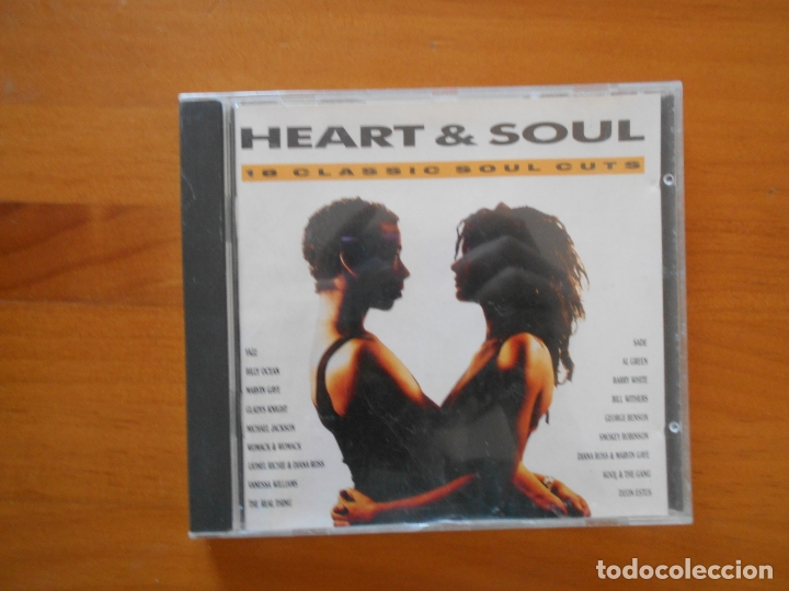 CD HEART & SOUL - 18 CLASSIC SOUL CUTS (1Y) (Música - CD's Jazz, Blues, Soul y Gospel)