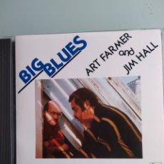CDs de Música: ART FARMER / JIM HALL – BIG BLUES (EDICIÓN JAPONESA) RARÍSIMA. Lote 164073302