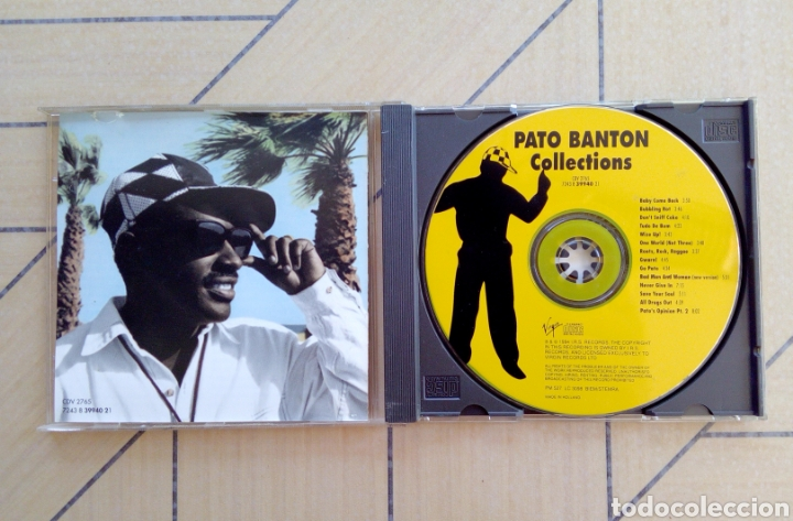 CDs de Música: Pato Banton and the Reggae Revolution - Collections, I.r.s. Records, 1994. Holland. - Foto 2 - 164112822