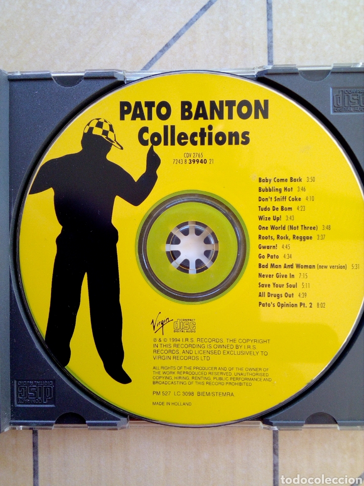 CDs de Música: Pato Banton and the Reggae Revolution - Collections, I.r.s. Records, 1994. Holland. - Foto 4 - 164112822