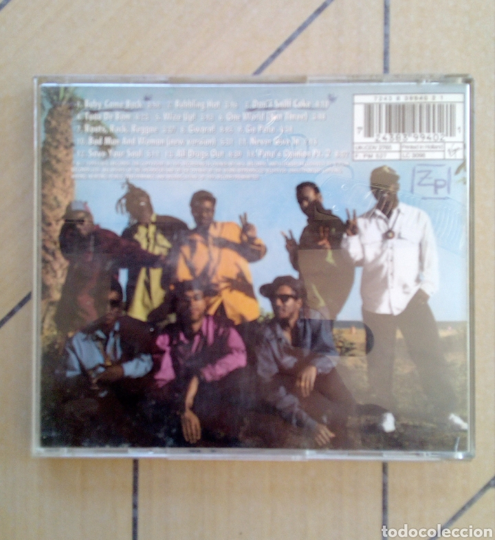 CDs de Música: Pato Banton and the Reggae Revolution - Collections, I.r.s. Records, 1994. Holland. - Foto 5 - 164112822