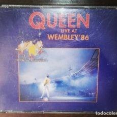 CDs de Música: QUEEN LIVE AT WEMBLEY 1986 2 CD. Lote 164148354