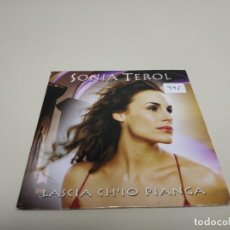 CDs de Música: 519- SONIA TEROL LASCI CH IO PIANGA SINGLE CD PROMOCIONAL . Lote 164153682