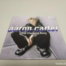 CDs de Musique: 519- AARON CARTER THE CLAPPING SONG SINGLE CD PROMOCIONAL. Lote 164160786