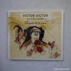 CDs de Música: VICTOR VICTOR & LA VELLONERA - BACHATA EN LA ZONA - CD PRECINTADO . Lote 164165762