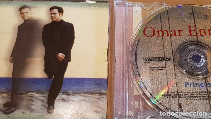 CDs de Música: FIRMADO !! OMAR ENRIQUE / PRINCESA / CD - SONOGRAFICA-VENEZUELA / FIRMADO POR EL ARTISTA. - Foto 2 - 164191742