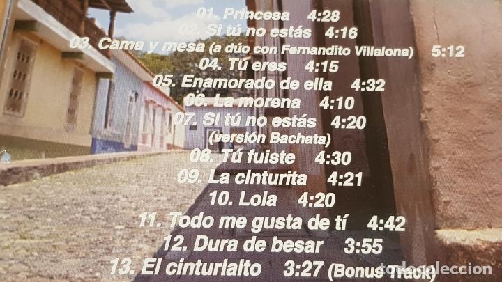 CDs de Música: FIRMADO !! OMAR ENRIQUE / PRINCESA / CD - SONOGRAFICA-VENEZUELA / FIRMADO POR EL ARTISTA. - Foto 4 - 164191742