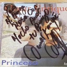 CDs de Música: FIRMADO !! OMAR ENRIQUE / PRINCESA / CD - SONOGRAFICA-VENEZUELA / FIRMADO POR EL ARTISTA.. Lote 164191742
