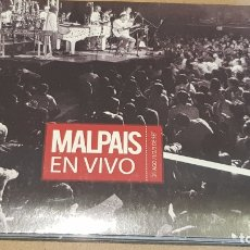 CDs de Música: MALPAIS / EN VIVO / DIGIPACK-CD - PAPAYAMUSIC-COSTA RICA / 14 TEMAS / PRECINTADO.. Lote 164194206