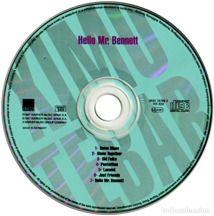 CDs de Música: Ximo Tebar with Lou Bennett & Idris Muhammad - Hello Mr. Bennett - Cd Spain 1997 - WEA ‎0630187892 - Foto 5 - 164197714