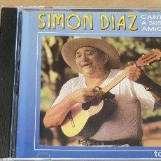 CDs de Música: SIMON DIAZ CANTA A SUS AMIGOS / CD - DISCO CLUB VENEZOLANO / 14 TEMAS / BUENA CALIDAD.. Lote 164236118