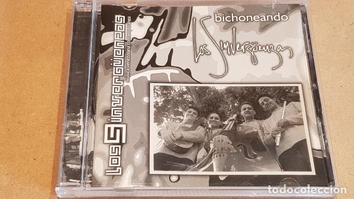 LOS SINVERGUENZAS / BICHONEANDO / CD - MÚSICA VENEZOLANA / 10 TEMAS / DE LUJO. (Música - CD's Latina)