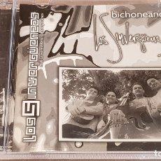 CDs de Música: LOS SINVERGUENZAS / BICHONEANDO / CD - MÚSICA VENEZOLANA / 10 TEMAS / DE LUJO.. Lote 164239810