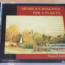CDs de Música: MÚSICA CATALANA PER A FLAUTA / VARIOS ARTISTAS / CD - ARS HARMONICA / 21 TEMAS / CALIDAD LUJO.. Lote 164243134