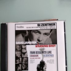 CDs de Música: SI ZENTNER– FROM RUSSIA WITH LOVE / WARNING SHOT. Lote 164422442