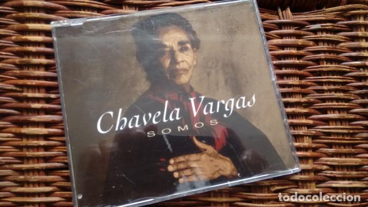 CD-SINGLE PROMOCION DE CHAVELA VARGAS (Música - CD's Otros Estilos)