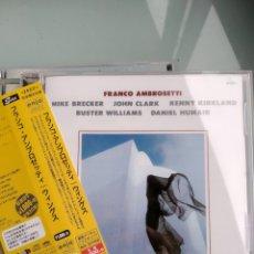 CDs de Música: FRANCO AMBROSETTI, MIKE BRECKER– WINGS (EDICIÓN JAPONESA - RARÍSIMA). Lote 164435390