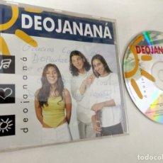 CDs de Musique: CD ALBUM DEOJANANÁ DEOJANANÁ CON DEDICATORIA EN PORTADA Y AUTOGRAFO !. Lote 164481670
