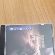 CDs de Música: MICK ABRAHAMS. ALL SAID AND DONE. Lote 164579132