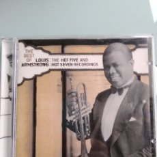 CDs de Música: LOUIS ARMSTRONG – THE BEST OF THE HOT FIVE AND HOT SEVEN RECORDINGS. Lote 164579558
