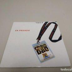 CD di Musica: 519- CHAMBAO EN PRIVADO 3 TRACKS CD PROMOCIONAL. Lote 184117401