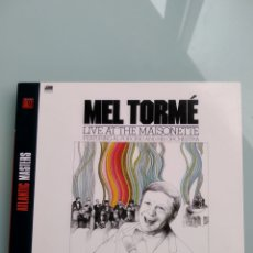 Music CDs - Mel Tormé Featuring Al Porcino And His Orchestra ‎– Live At The Maisonette - 164582186
