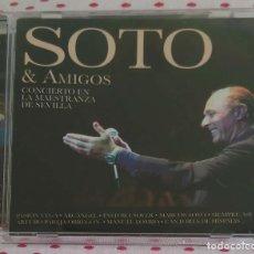 CDs de Música: JOSE MANUEL SOTO (SOTO & AMIGOS - CONCIERTO EN LA MAESTRANZA DE SEVILLA) CD 2012. Lote 164584362