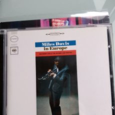 CDs de Música: MILES DAVIS – MILES DAVIS IN EUROPE. Lote 164589418