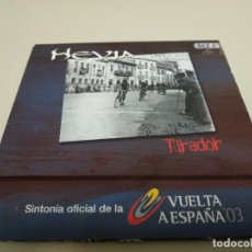 CD di Musica: 519- HEVIA TIRADOR SINTONIA VUELTA ESPAÑA 03 SINGLE CD PROMOCIONAL. Lote 164590154