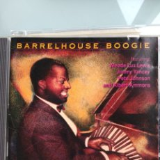CDs de Música - Meade Lux Lewis And Jimmy Yancey And Pete Johnson And Albert Ammons ‎– Barrelhouse Boogie - 164593390
