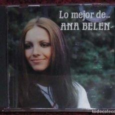 CDs de Música: ANA BELEN (LO MEJOR DE... ANA BELEN) CD 1987. Lote 164617306
