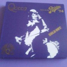 CDs de Música: GENIAL. QUEEN - LIVE AT THE RAINBOW '74 - 2 CDS. EDICIÓN DIGIPACK DE 2014. Lote 164620714